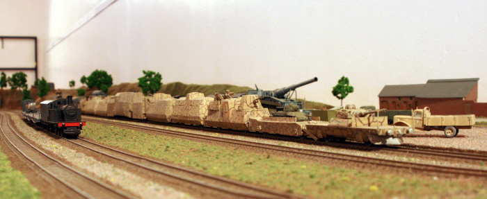 On Track Show will feature displys such as the BP44 Armoured Train by Trevor Claringbold